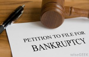 filing for bankruptcy protection
